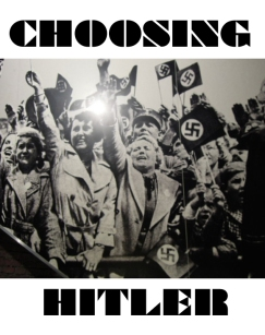 CHOOSING HITLER - cover