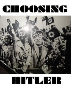 CHOOSING HITLER - cover