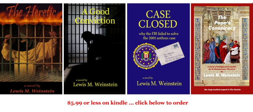Lew's 4 novels rev Feb 2013