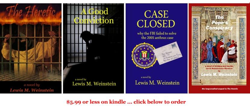 Lew's 4 novels rev Feb 2013