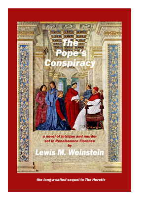 Pope's Conspiracy - cover for blog