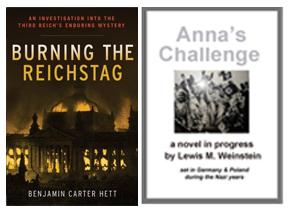 burning the Reichstag + Anna's Challenge