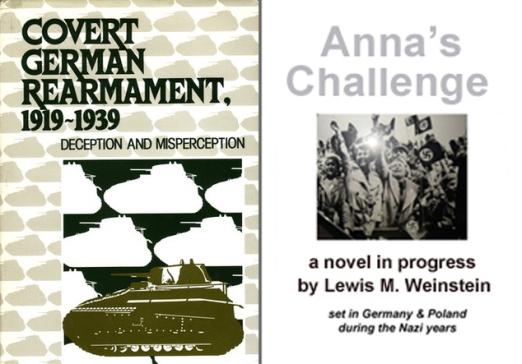 Covert rearmament + Anna's Challenge