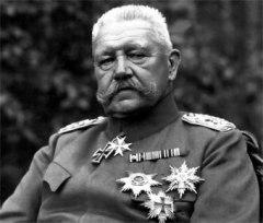German President Paul von Hindenburg