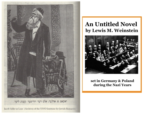 Yiddish King Lear & Untitled Novel